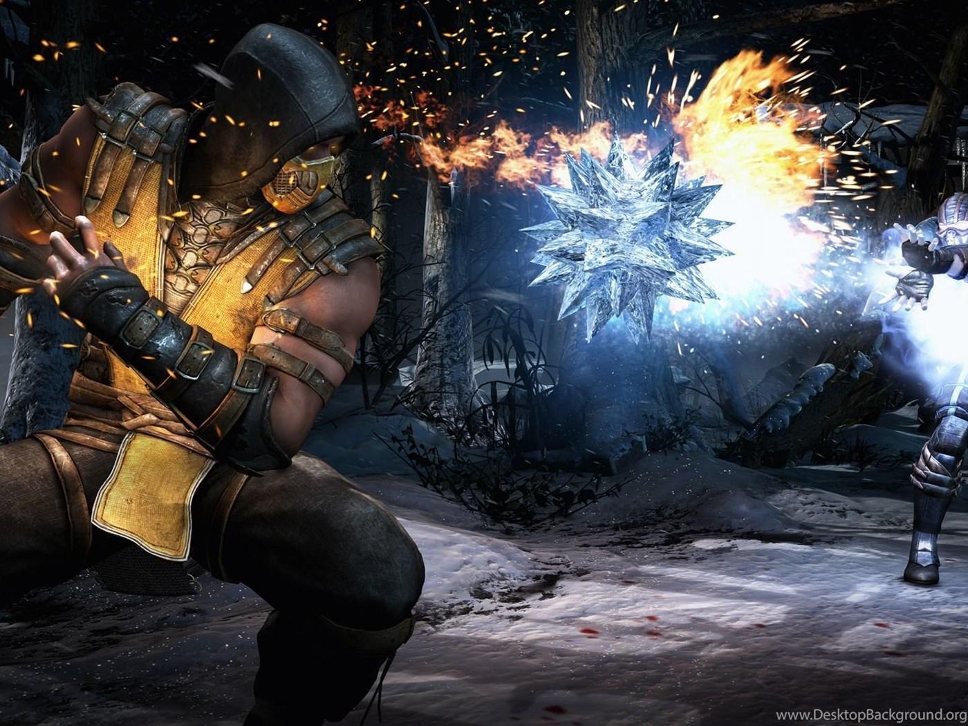 Download Best Mortal Kombat X Scorpion Vs Sub Zero Hd Wallpapers