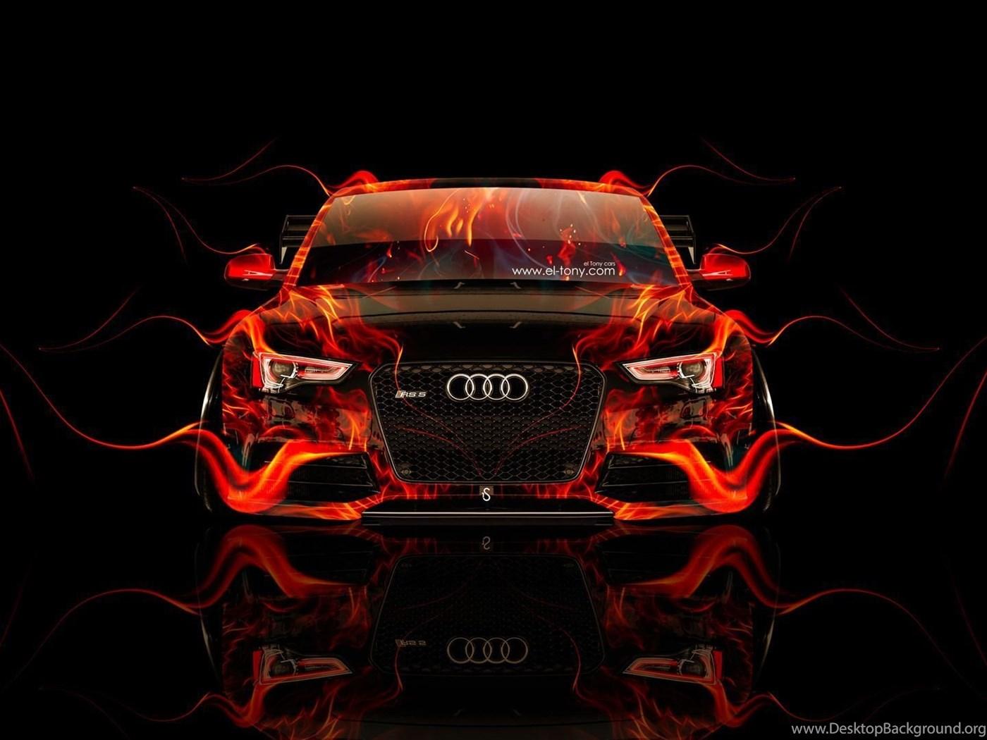 черный автомобиль Audi RS 5  № 3425055  скачать