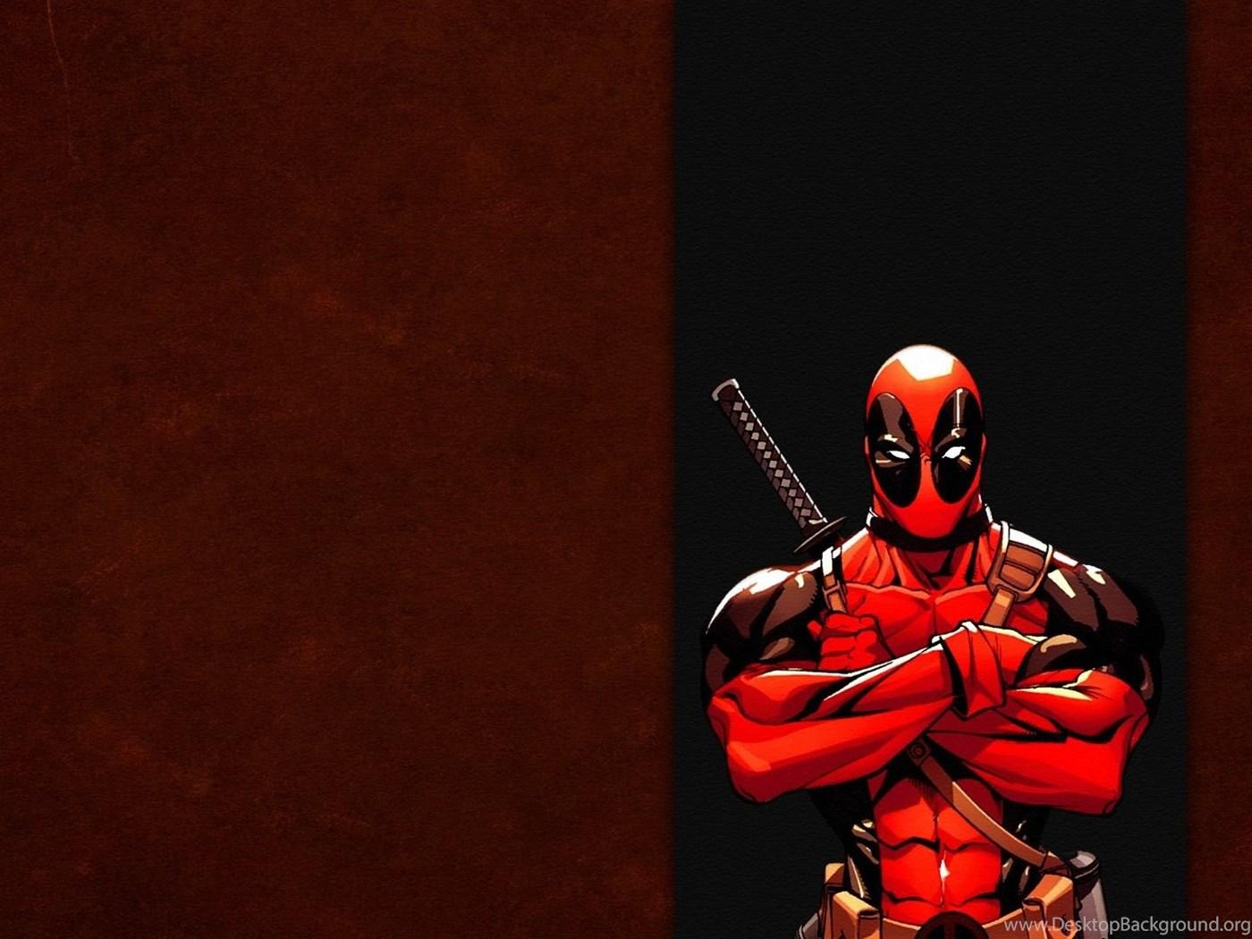Full Hd Wallpapers Deadpool Hero Marvel Comics Desktop Backgrounds
