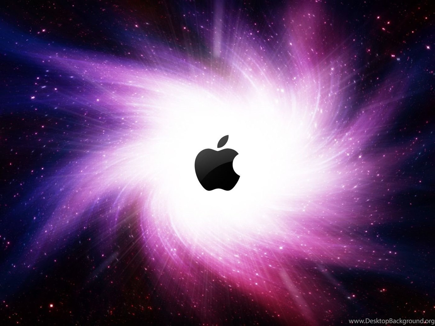 Apple In The Galaxy Wallpapers Computer Wallpapers Desktop Background