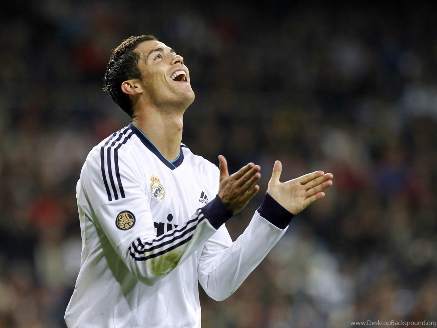Cristiano Ronaldo Real Madrid Players Hd Wallpapers Desktop Background