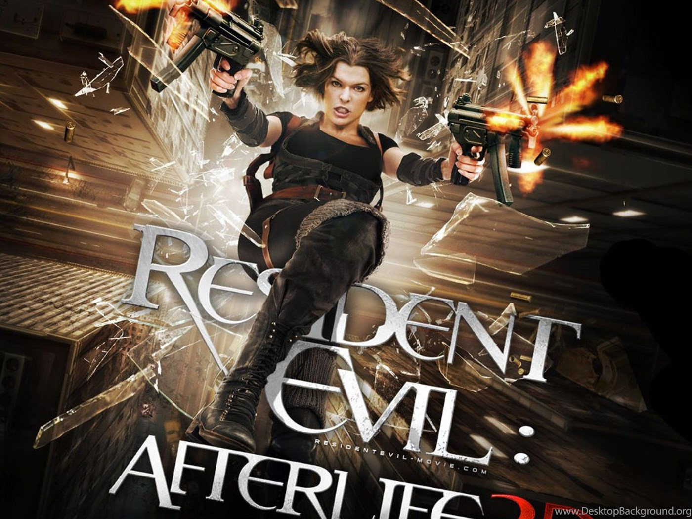 Movies TV HD Resident Evil – Afterlife Wallpapers For iPad 4