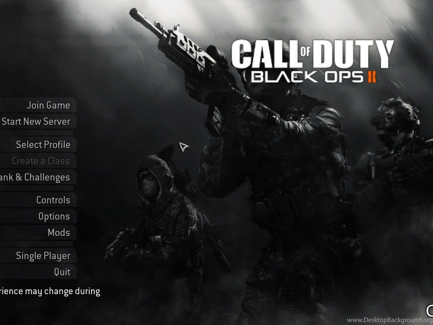 Black Ops 2 Menu Download CFGFactory Desktop Background