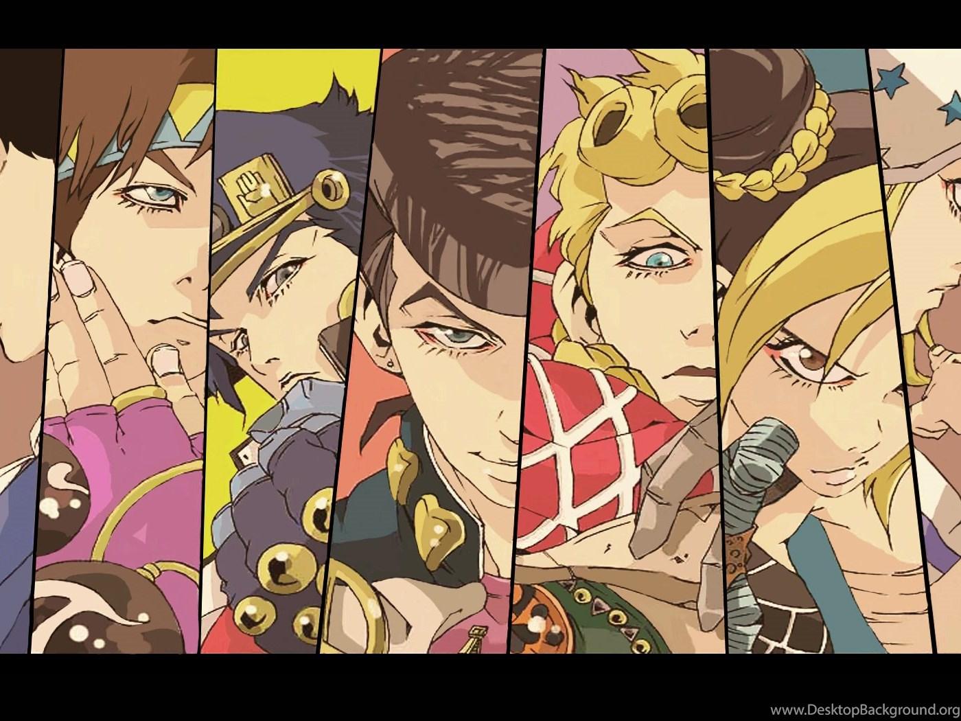 Anime Wallpapers Jojo S Bizarre Adventure Wallpaper