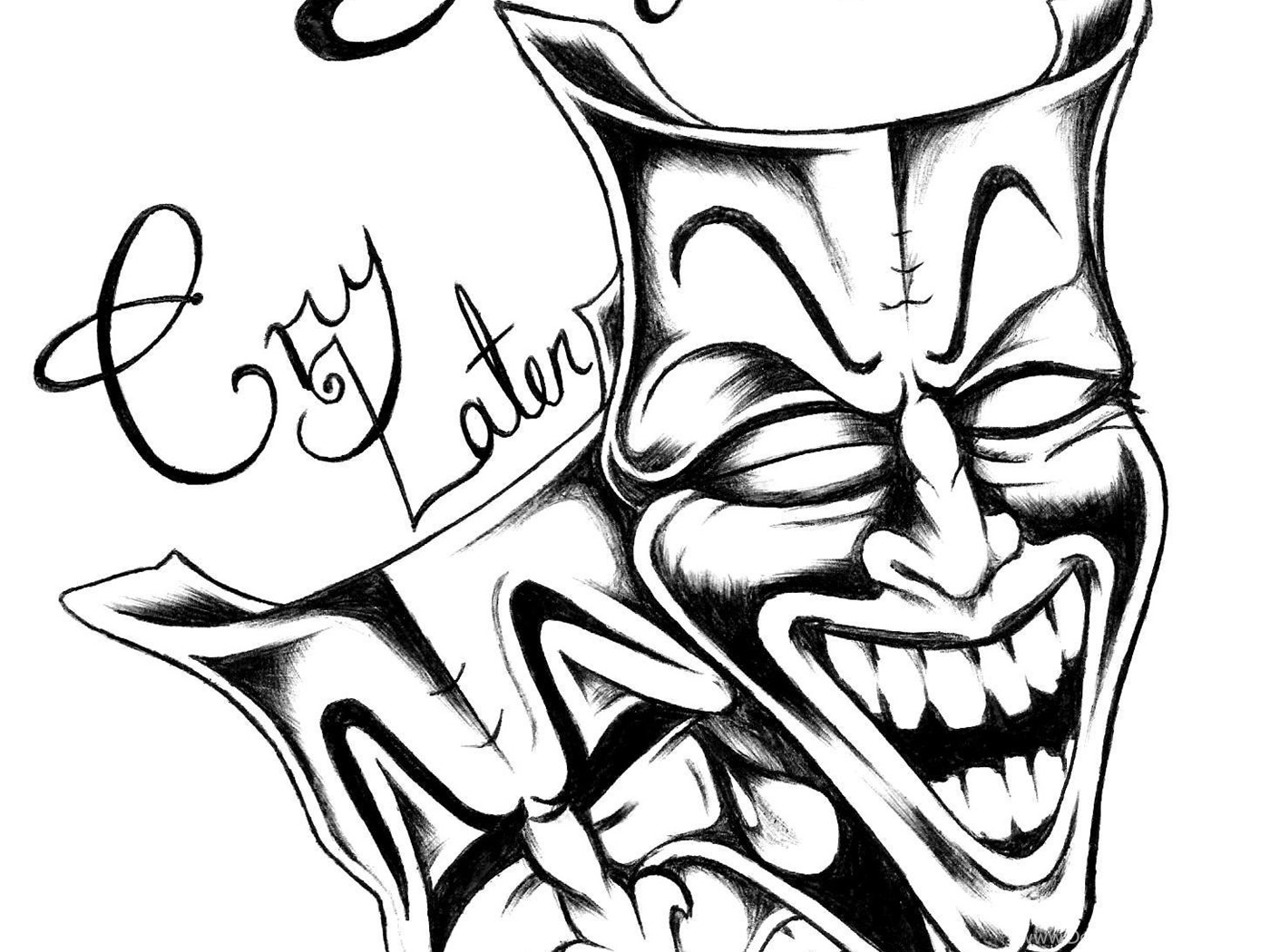 Laugh Now Cry Later By Dxpxl On Deviantart Desktop Background