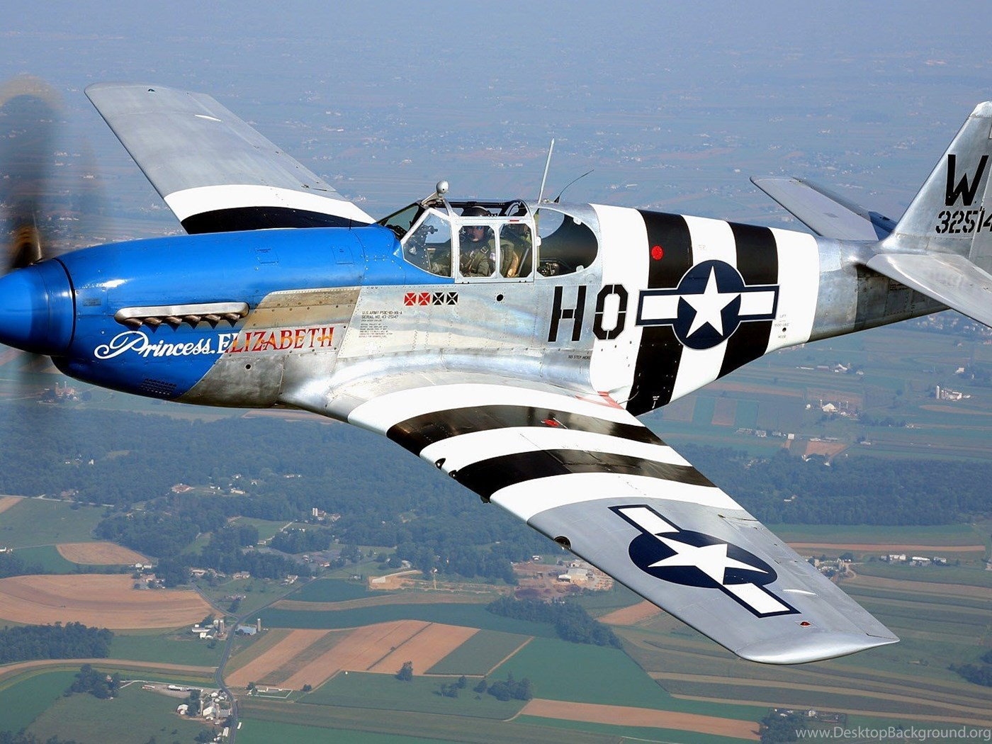 Aircraft Warbird P 51 Mustang Wallpapers Desktop Background