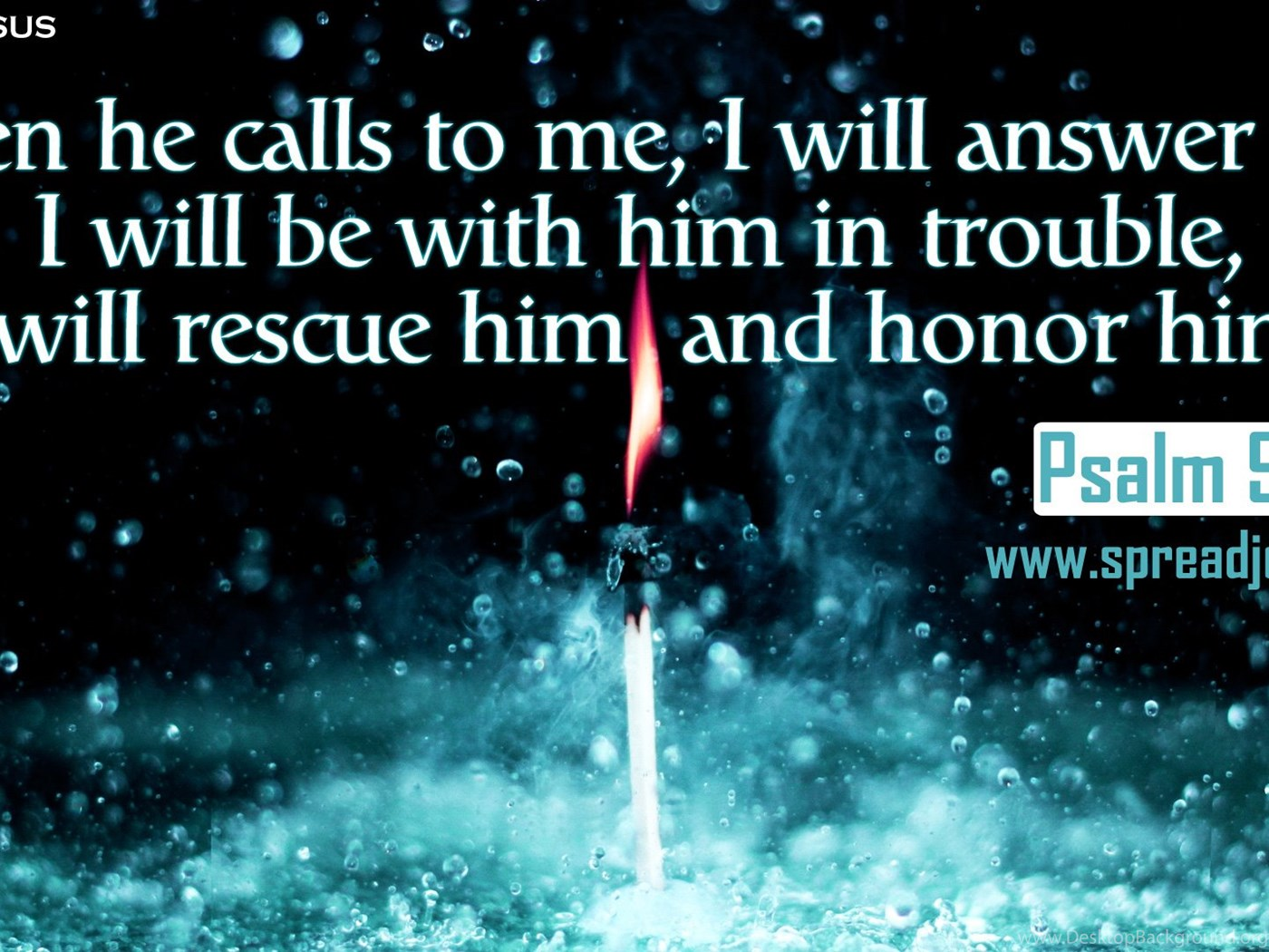 Psalm 91 15 Bible Quotes Hd Wallpapers Free Download Desktop Background