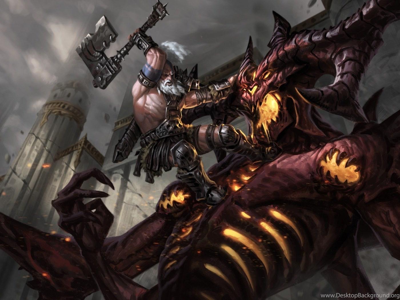 Diablo 3 Reaper Of Souls Wallpapers: Download Wallpapers Diablo 3, Reaper Of Souls, Rpg