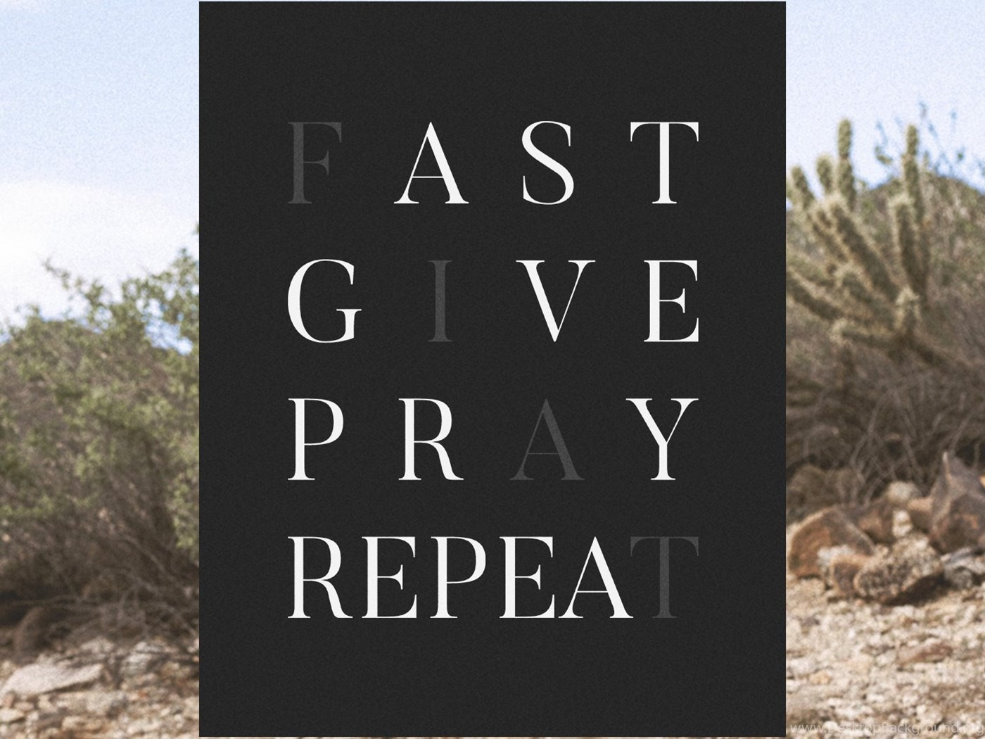 Fast give pray repeat a wallpapers for lent desktop background - Wallpaper for lent season ...