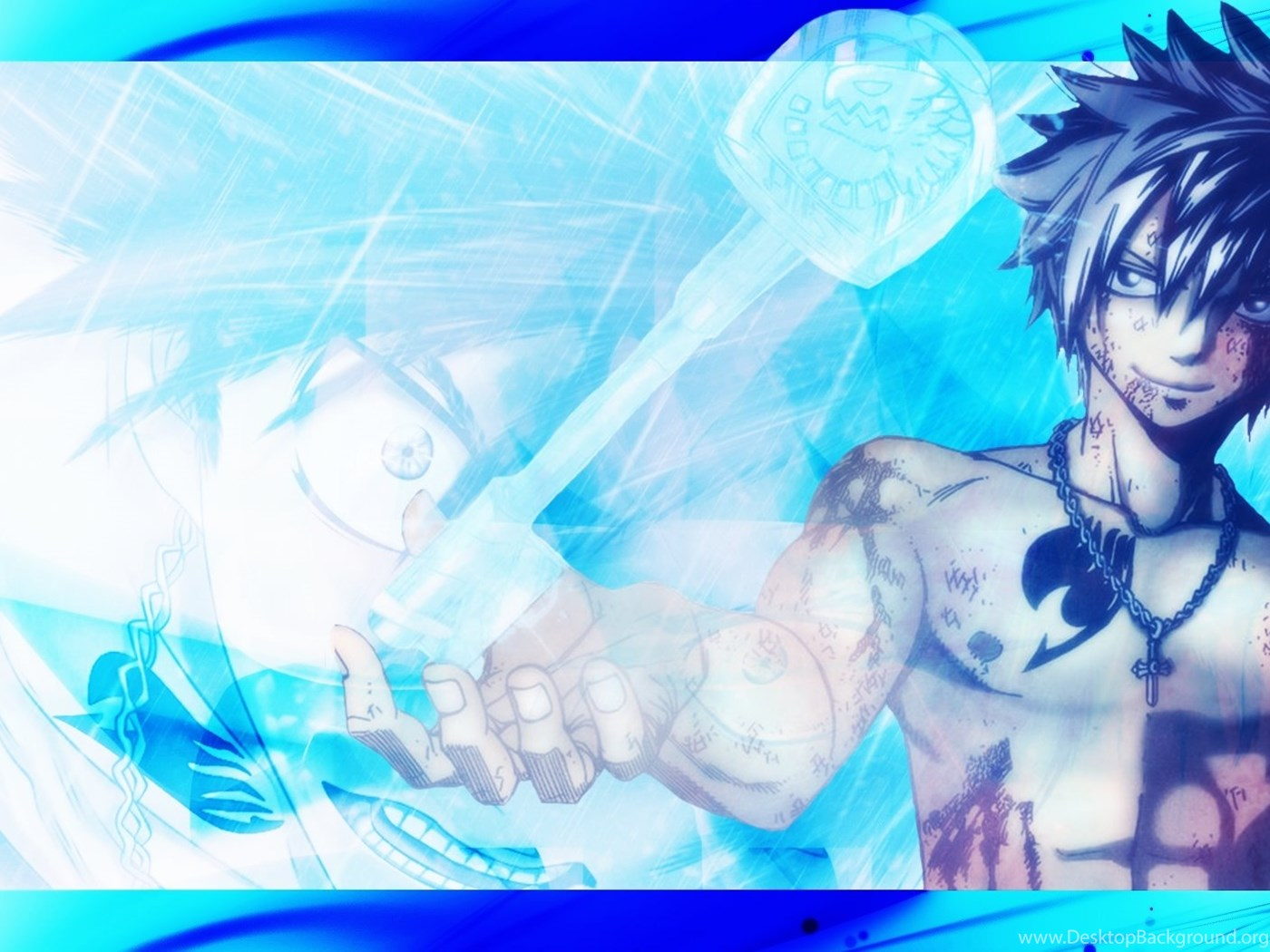 Gray Fullbuster Wallpapers Fairy Tail By Kingwallpapers On