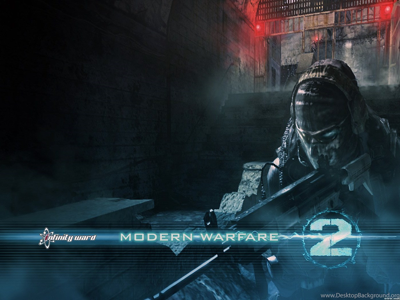 Call Of Duty Modern Warfare 2 Ghost Wallpapers Hd Imgmob Desktop