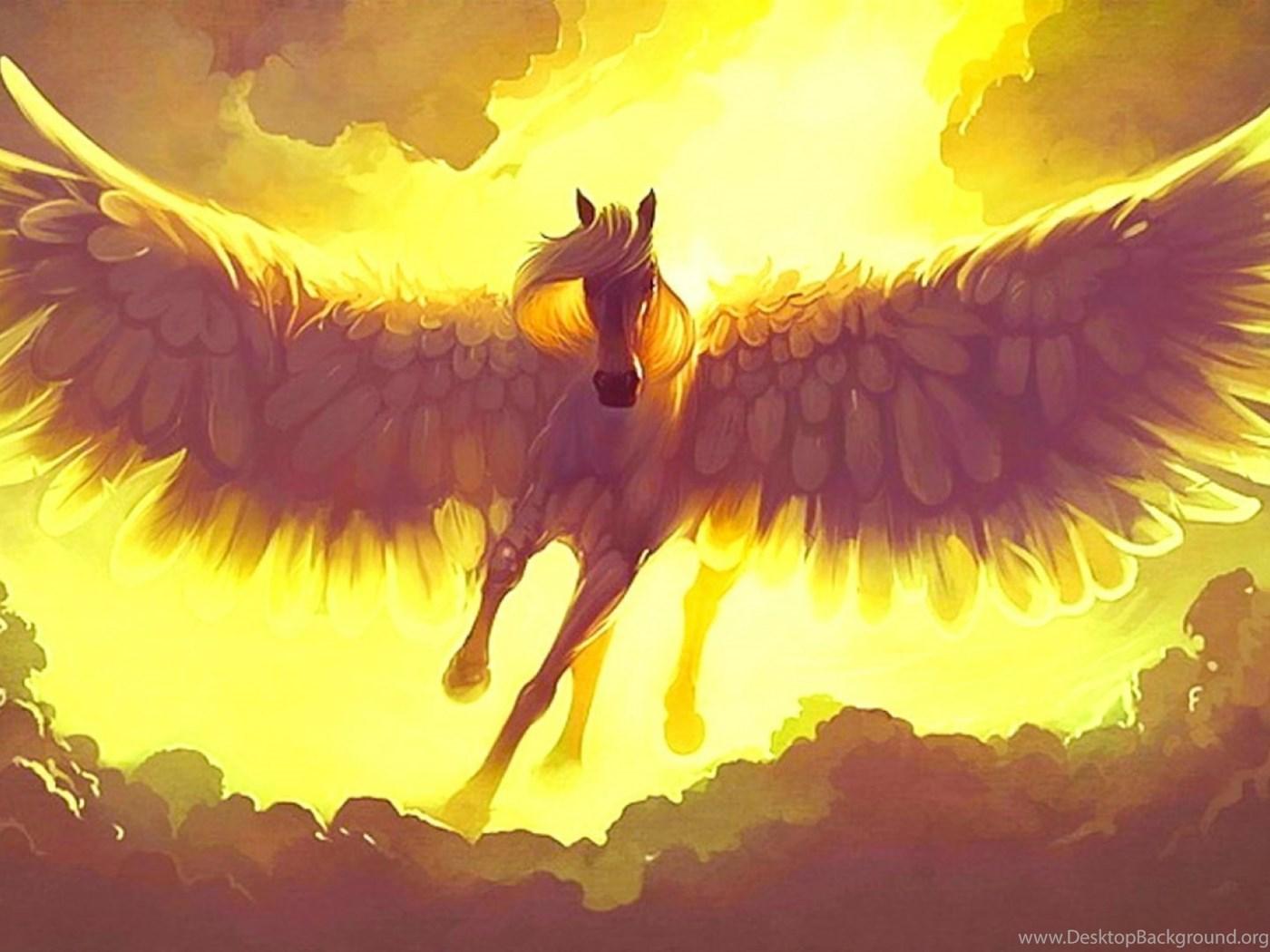 Fantasy Pegasus Horse Animal Art Artistic Artwork Wallpapers