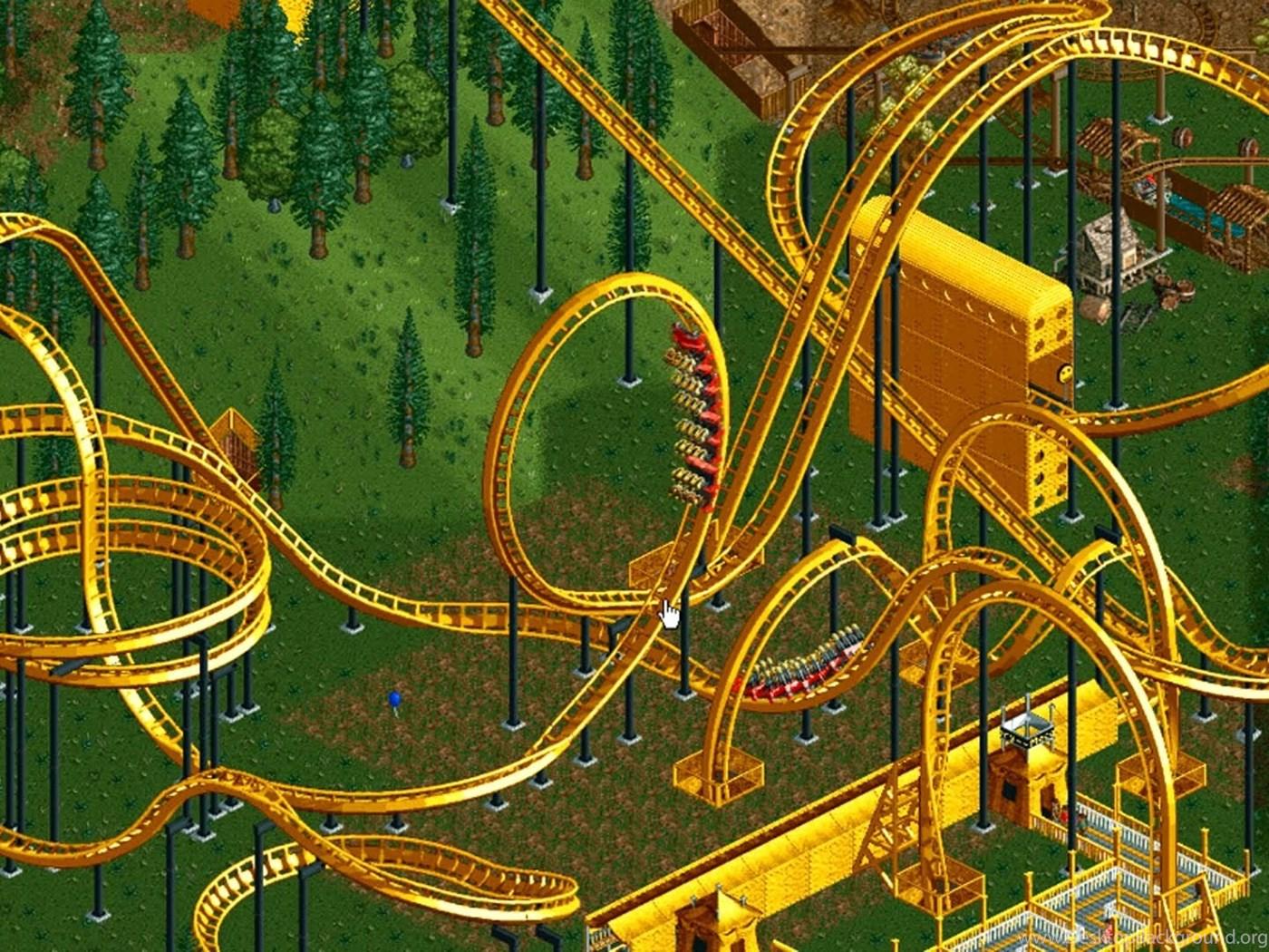 rollercoaster tycoon 2 wallpapers desktop background