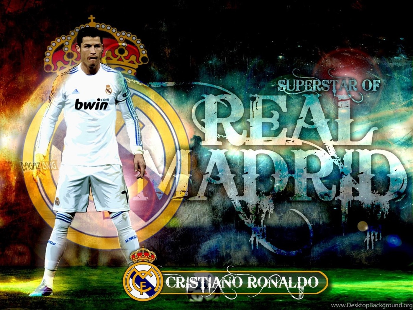 Cristiano Ronaldo Real Madrid Best Wallpapers Desktop Background