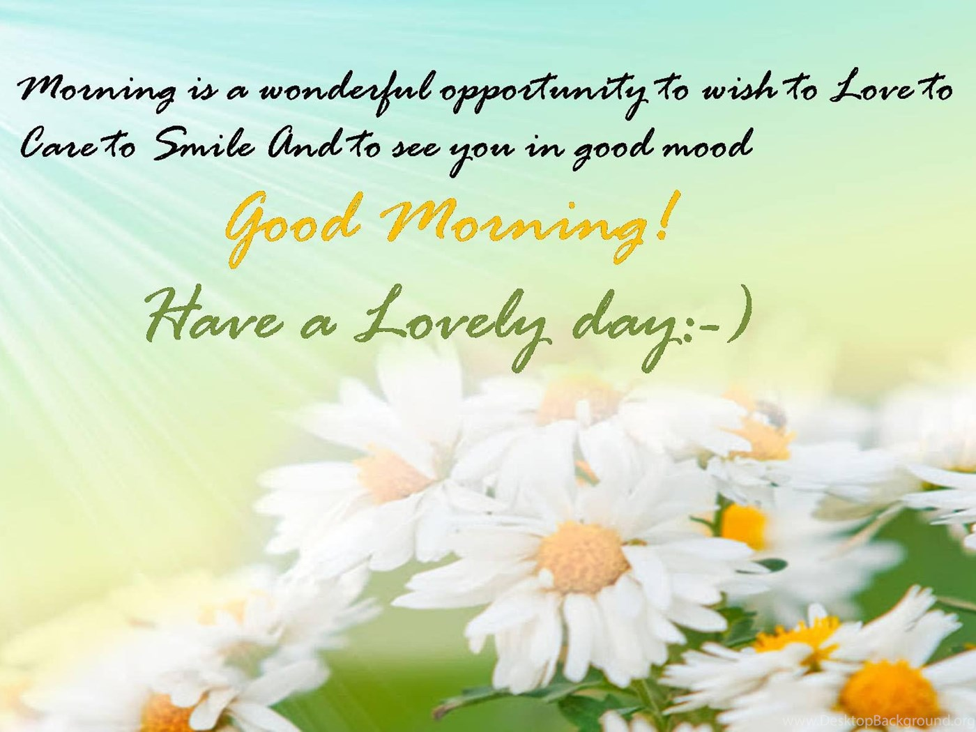 Good Morning Quotes Flower Wishes And Greetings Wallpapers Desktop