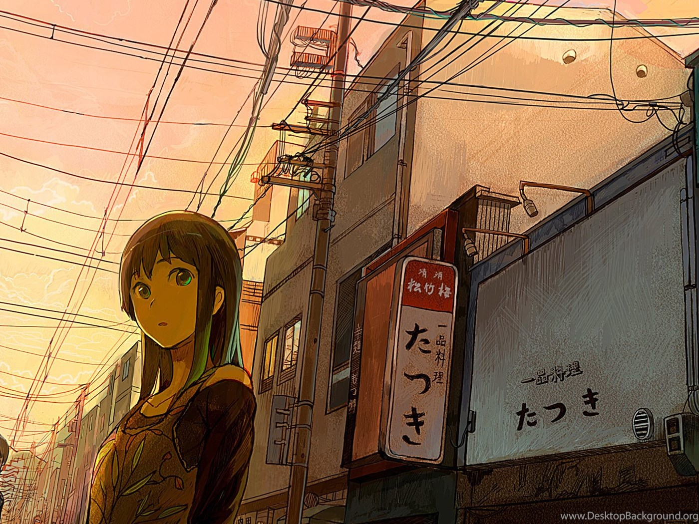 1920x1080 City Wire Japan Street View Wallpapers And Pictures Desktop Background