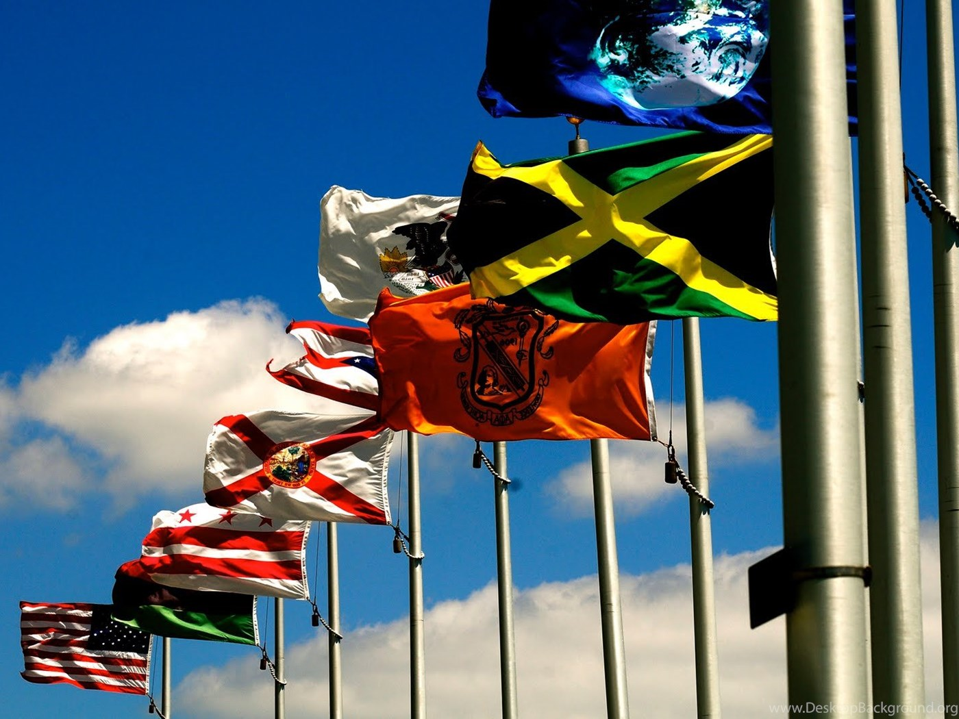 Wallpapers Flags World Labeled Travel Imagesci 1600x1063 Desktop
