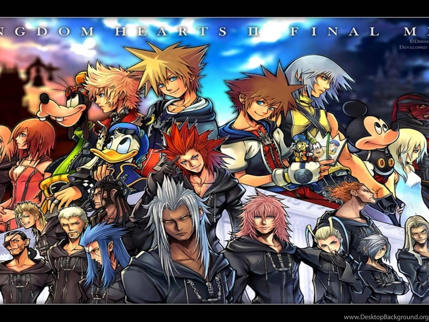 Kingdom Hearts II Final Mix OST The 13th Reflection YouTube