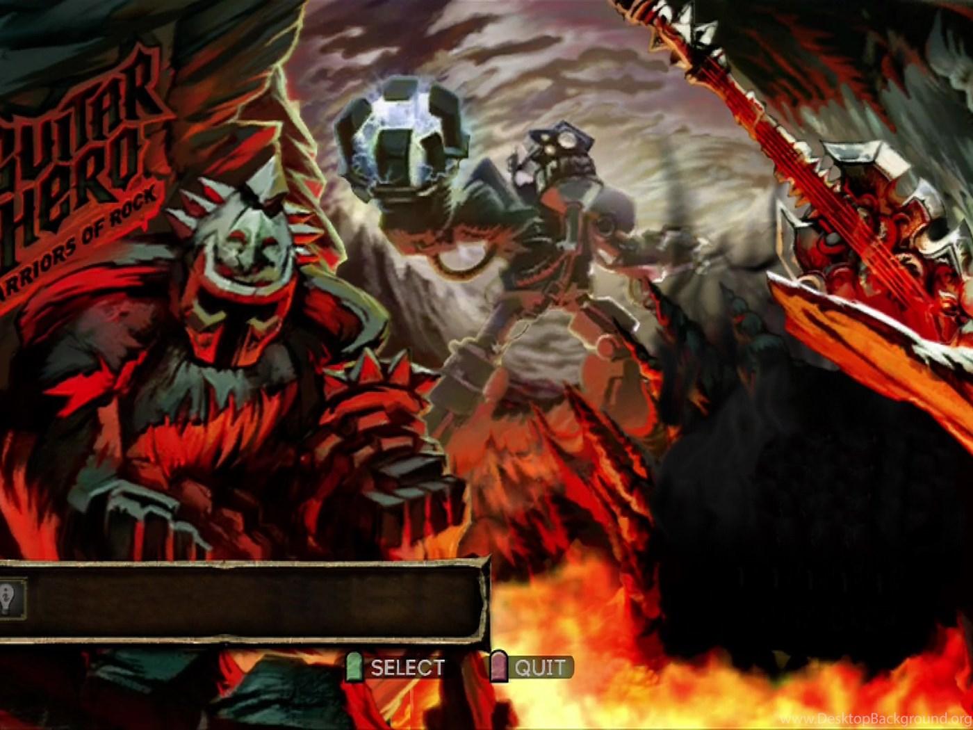 Guitar Hero Warriors Of Rock Wallpapers Desktop Background