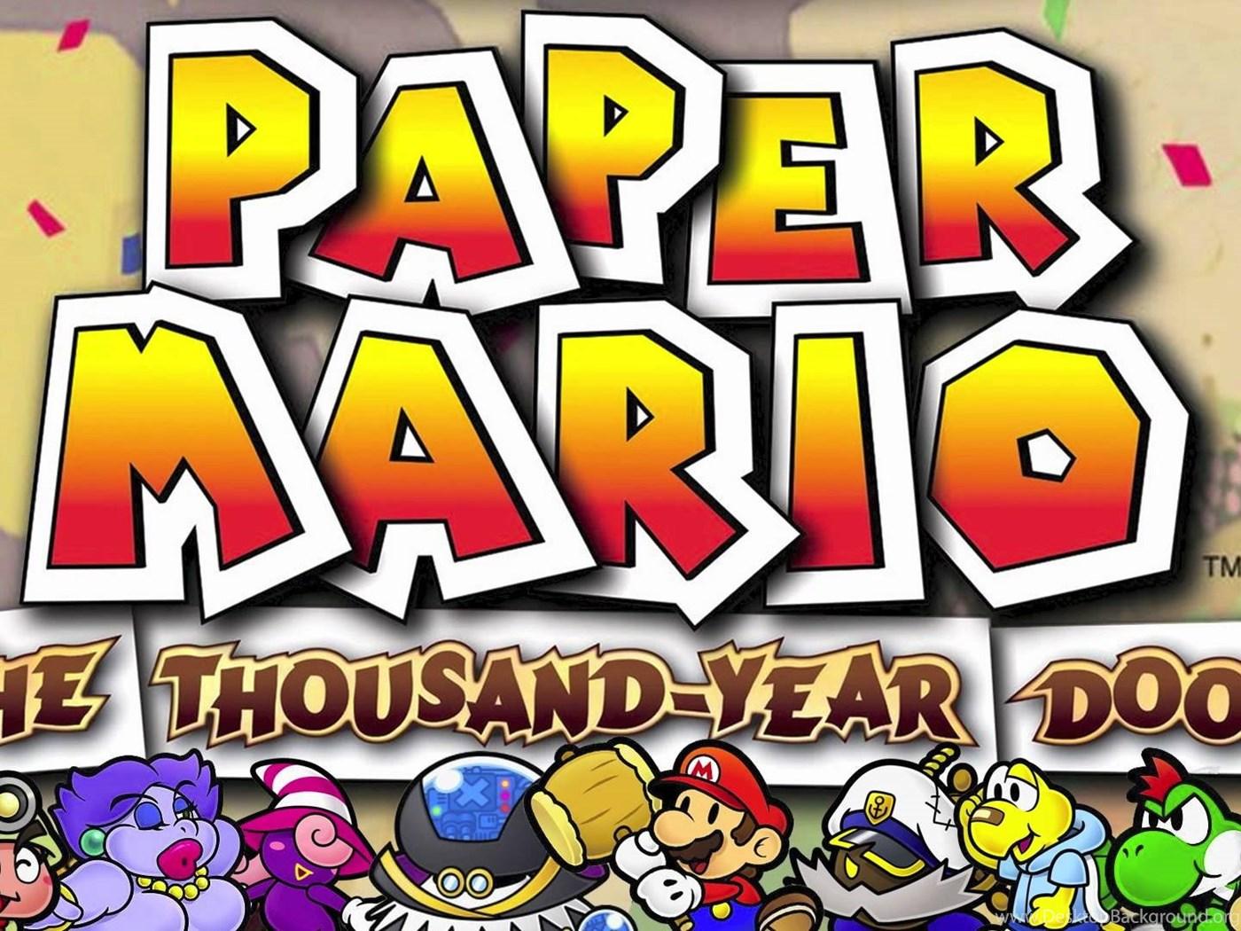 Petalburg Paper Mario The Thousand Year Door Youtube Desktop
