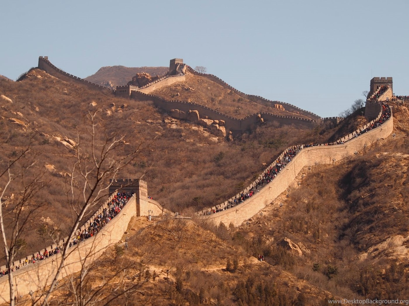 Great Wall Of China Wallpapers High Resolution Free Hd Wallpapers
