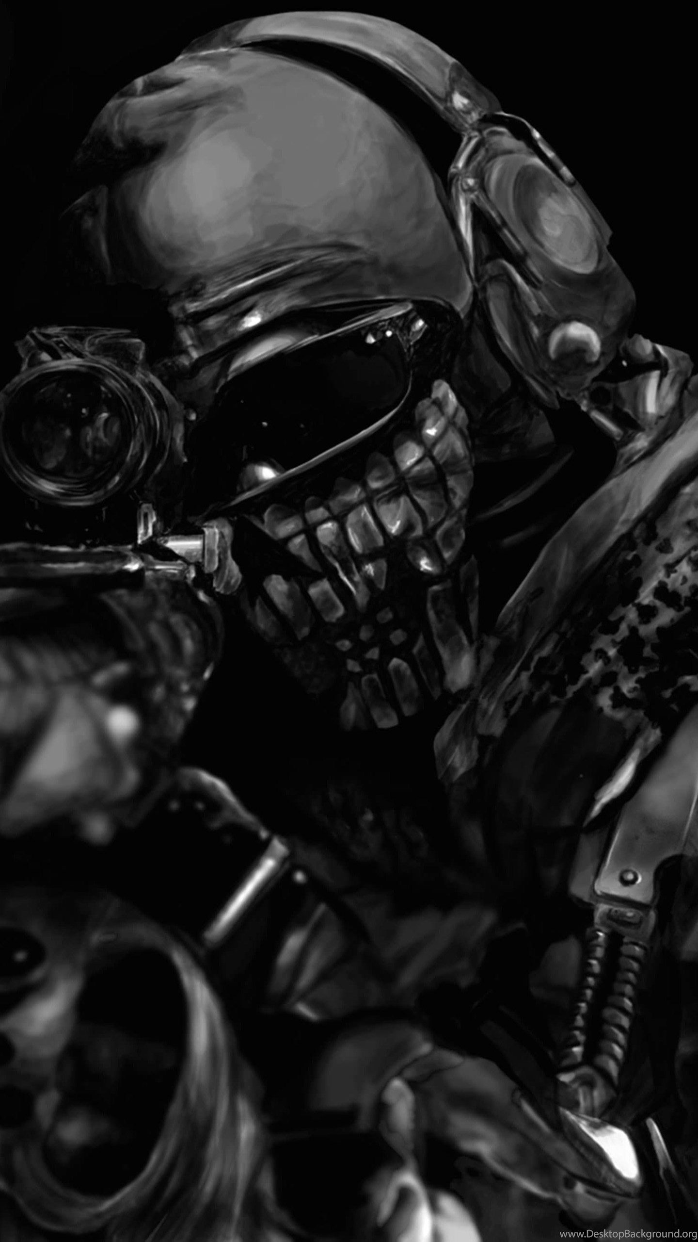 Download Call Of Duty Ghost Masked Warrior Hd Wallpapers For