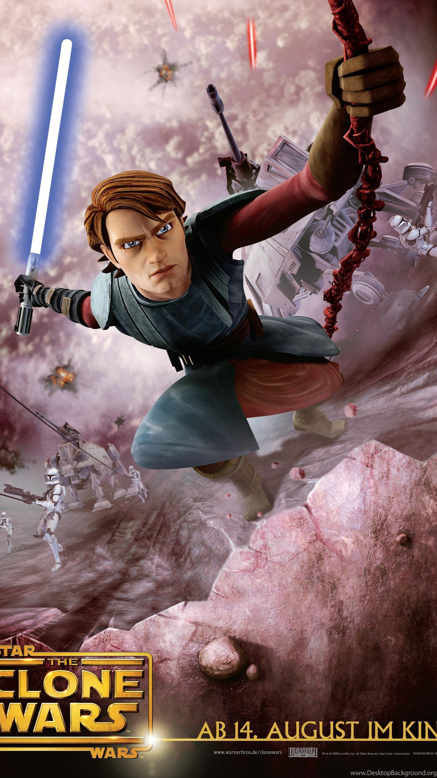 Star Wars The Clone Wars Anakin Skywalker Wallpapers And Images Desktop Background