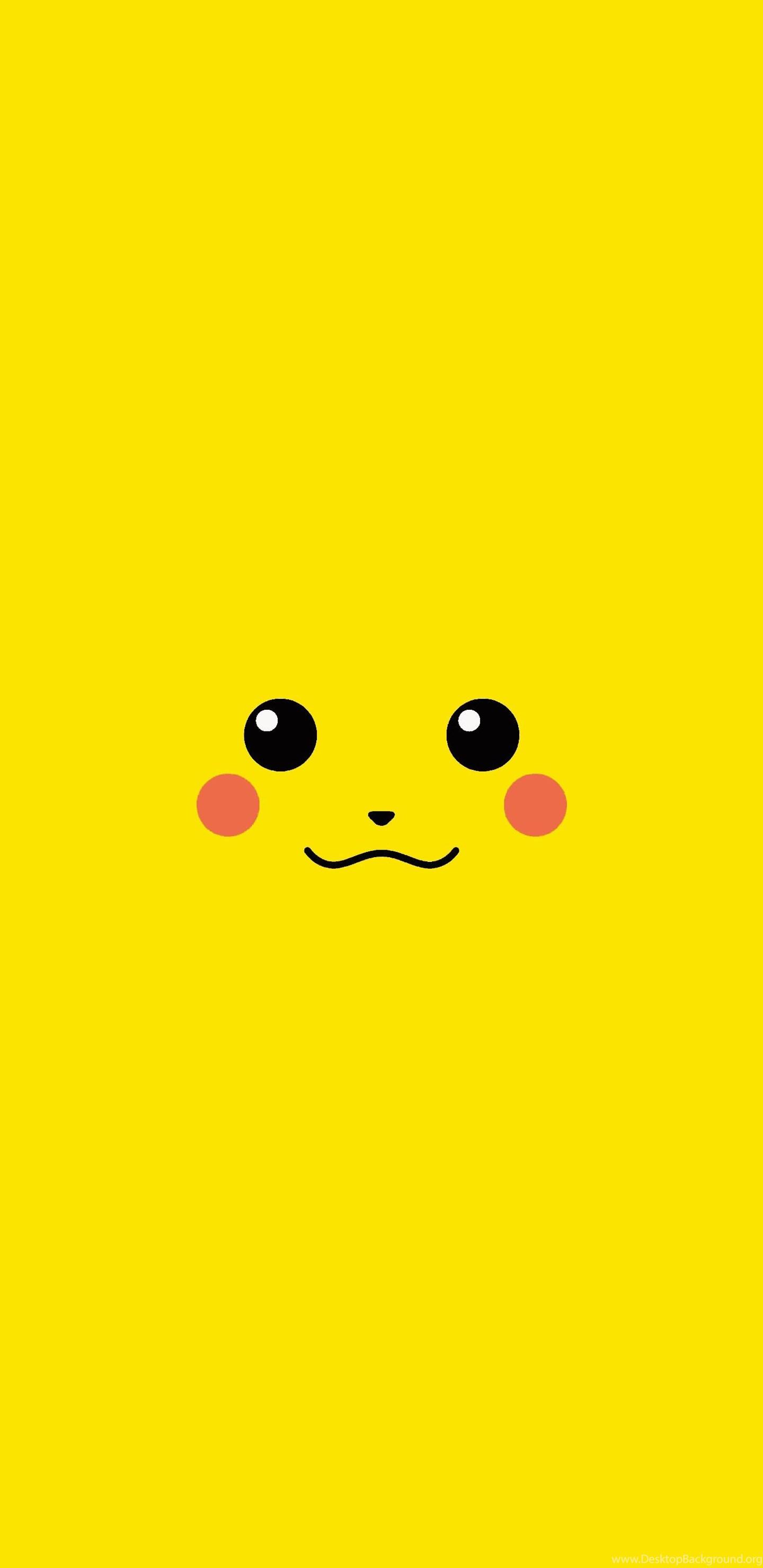 Yellow Pikachu Wallpapers Desktop Background
