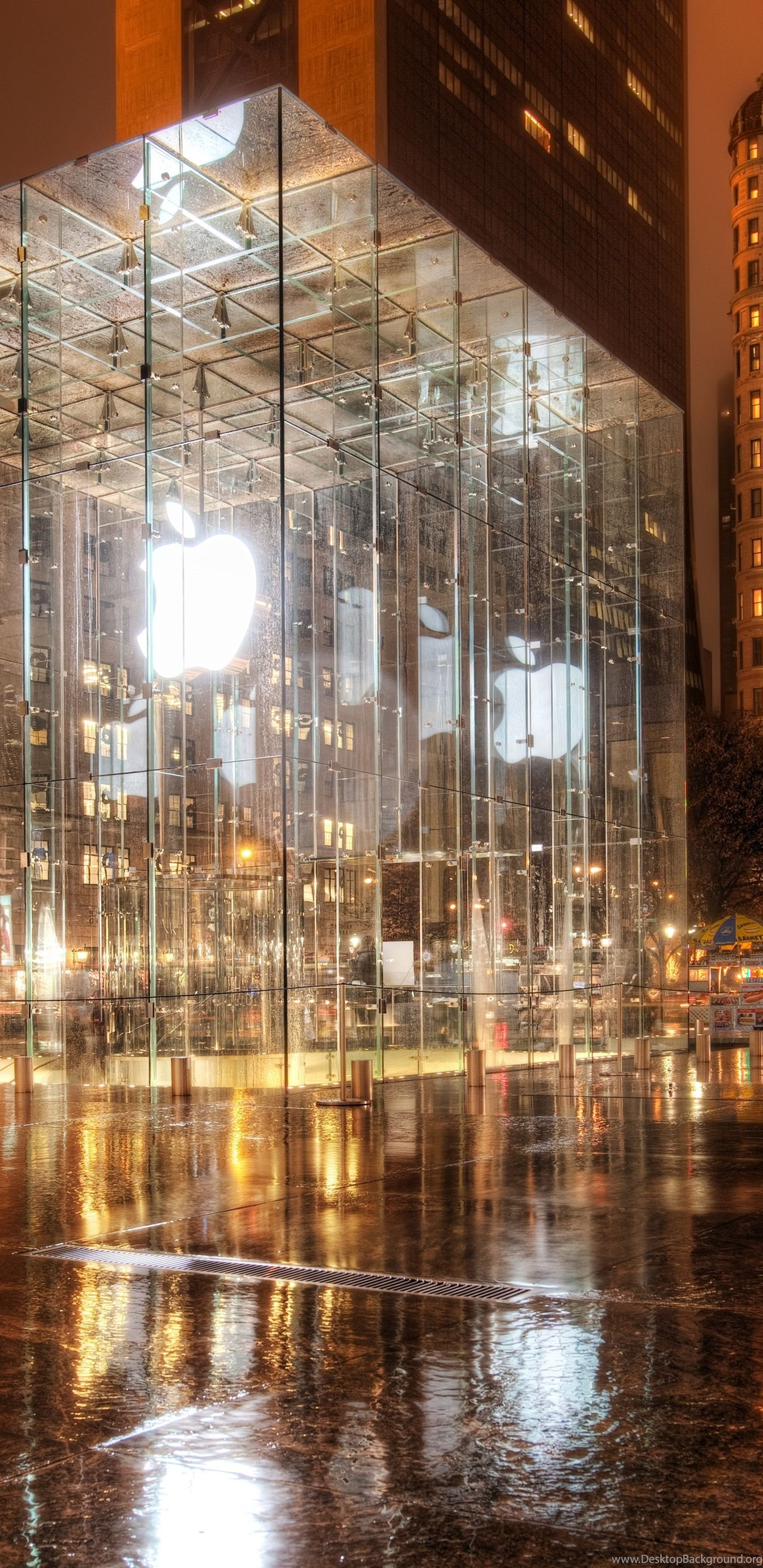 Apple Store New York Wallpapers Full Hd 5120x3200 Free Desktop Background