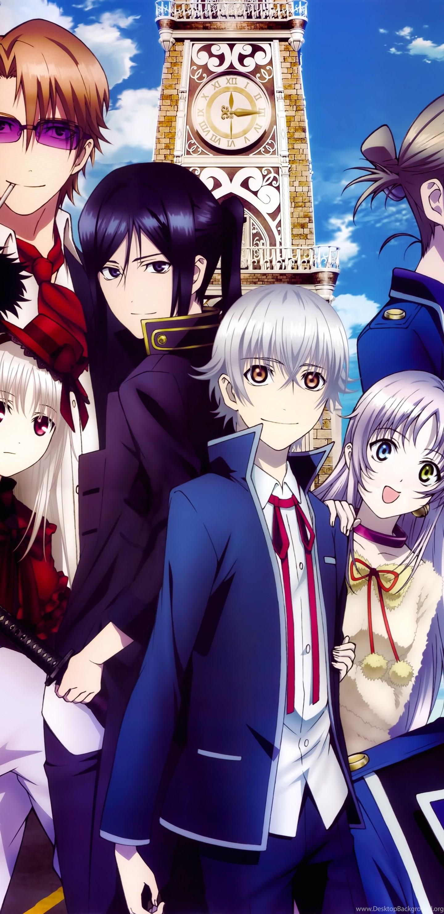 Anime Series K Project Group Friend Girls Guys Blue Sky