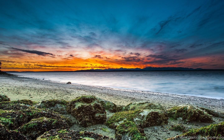 Sunset At Beach Uhd 4k Wallpapers Ultra HD 4K Wallpapers ...