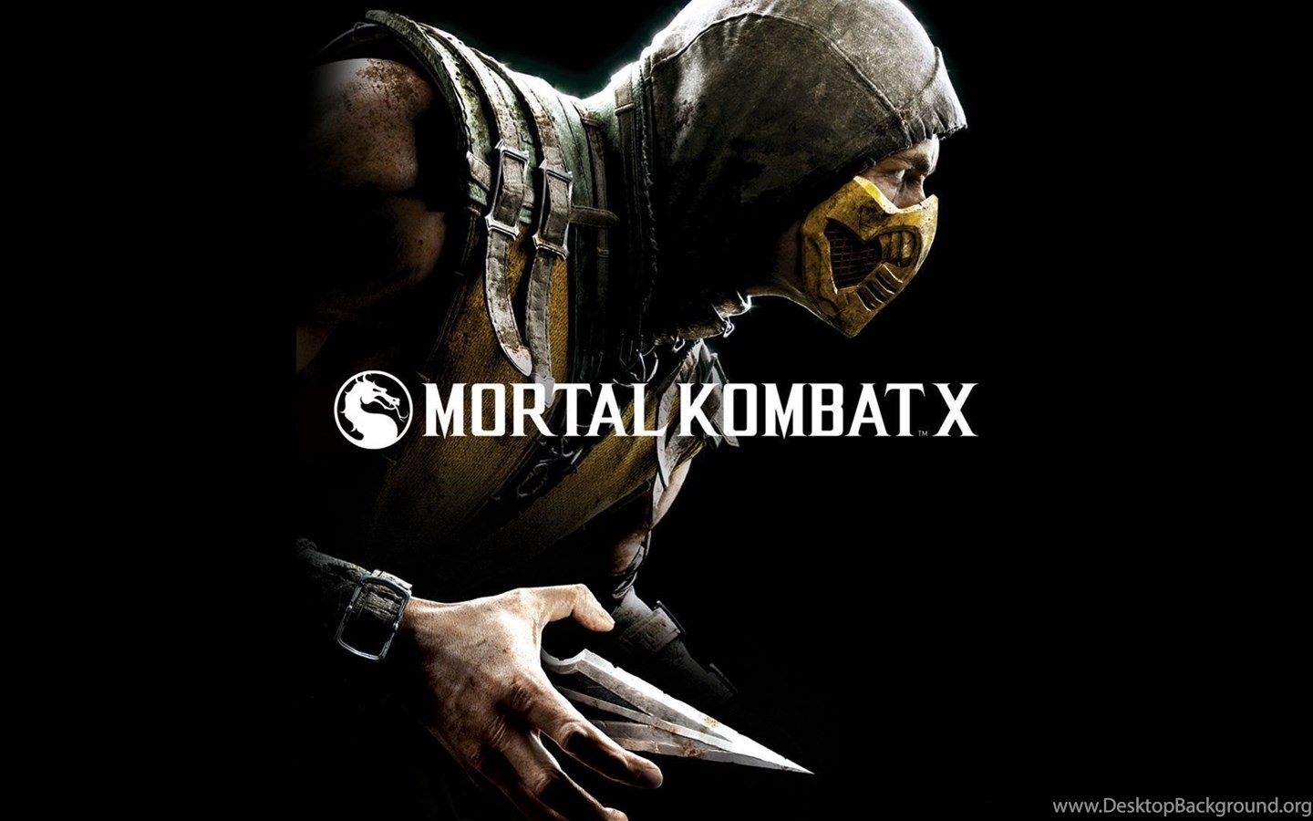 Scorpion Mortal Kombat X Game Wallpaper 1920x1080 Jpg Desktop