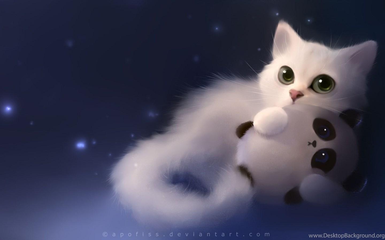 Cute cartoon cat wallpapers japanese cat cartoon - Cute kittens hd wallpaper free download ...