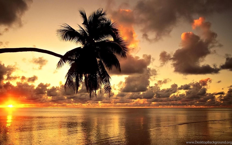 Summer beach sunset desktop wallpapers desktop background - Beach girl wallpaper hd ...