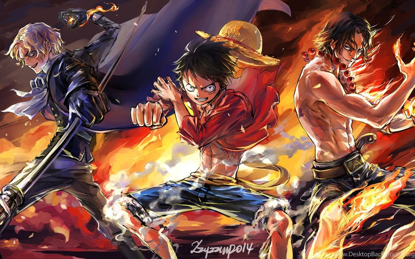 One Piece Hd Wallpapers Desktop Background