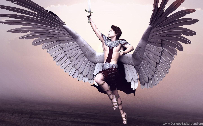 фото архангела михаила для рабочего стола снята
