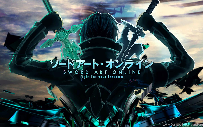 sword art online desktop background