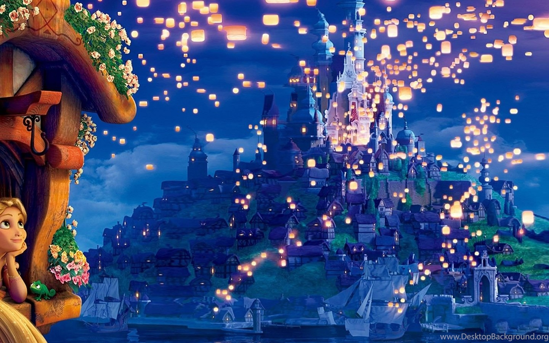 Download Wallpapers Tangled The Movie Rapunzel Princess Dreams Desktop Background