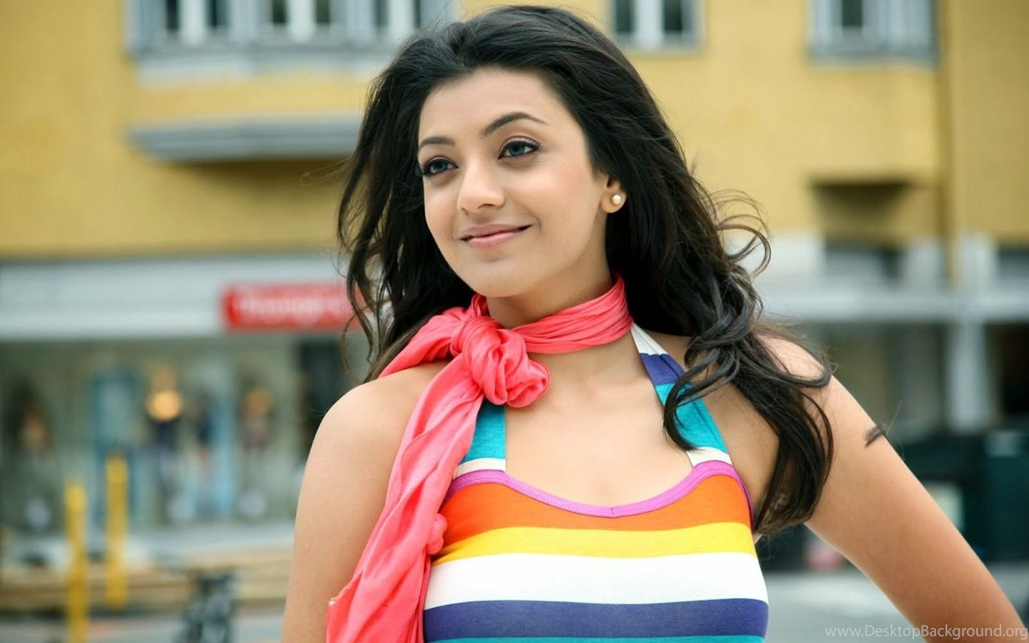 Wallpaper For Android Kajal Agarwal Indian Beautiful Girl