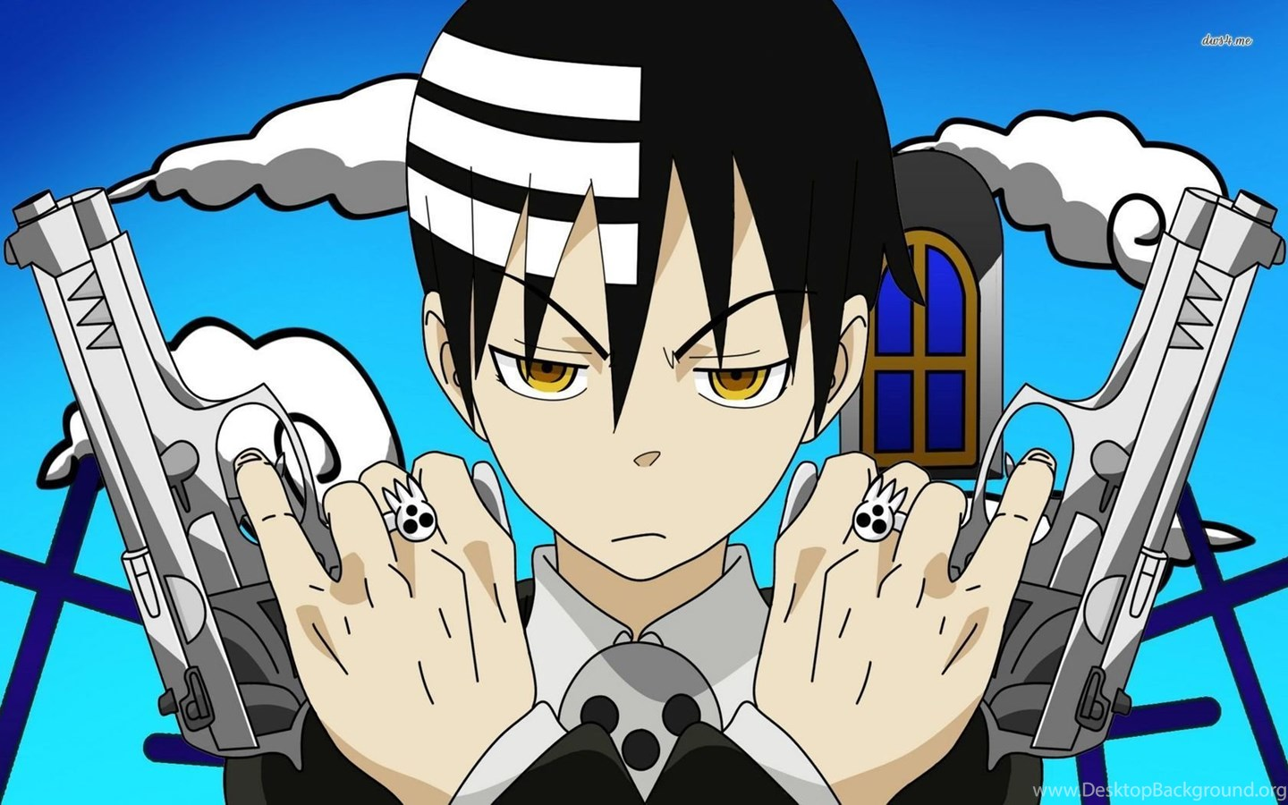 Death The Kid Soul Eater Wallpapers Anime Wallpapers Desktop