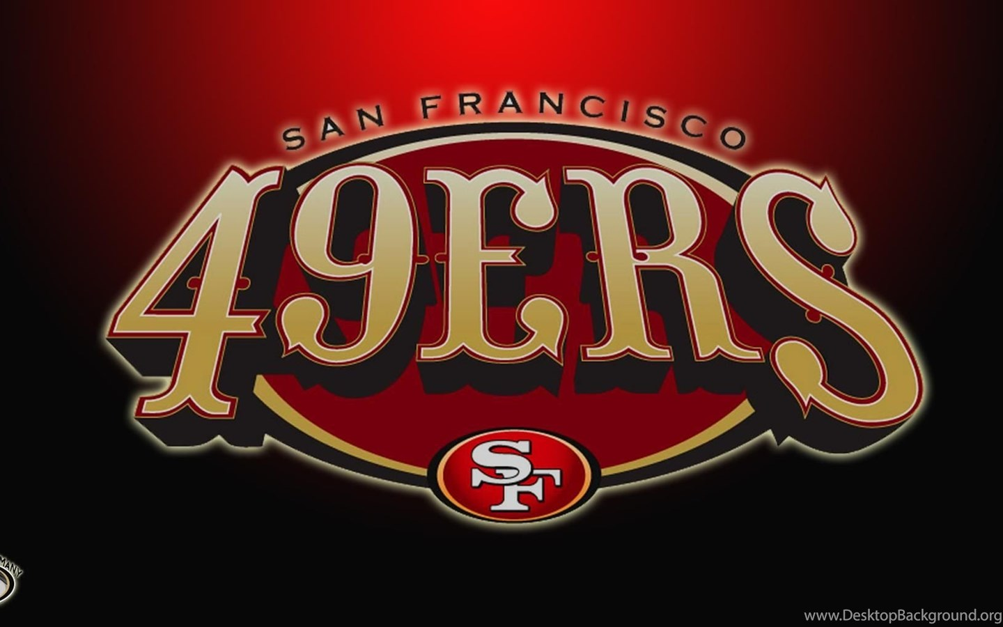 San Francisco Forty Niners 49ers Wallpapers Hd Free Download Desktop Background