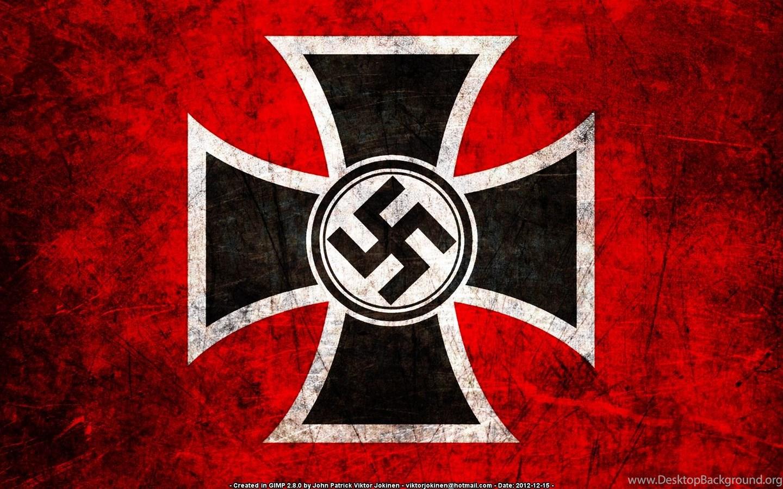 Nazi Flag Desktop Background