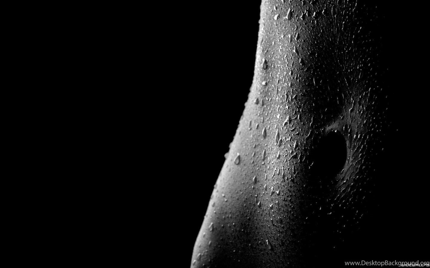 Erotic pear on a black background stock photo
