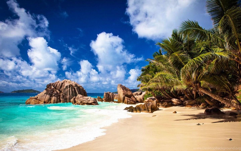 Hd Tropical Island Beach Paradise Wallpapers And Backgrounds: Tropical Beach Computer Wallpapers, Desktop Backgrounds
