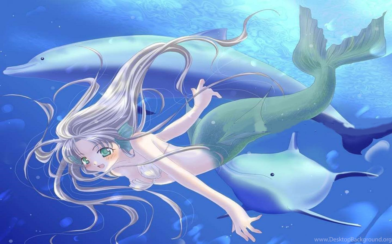 Mermaid Anime Wallpape...