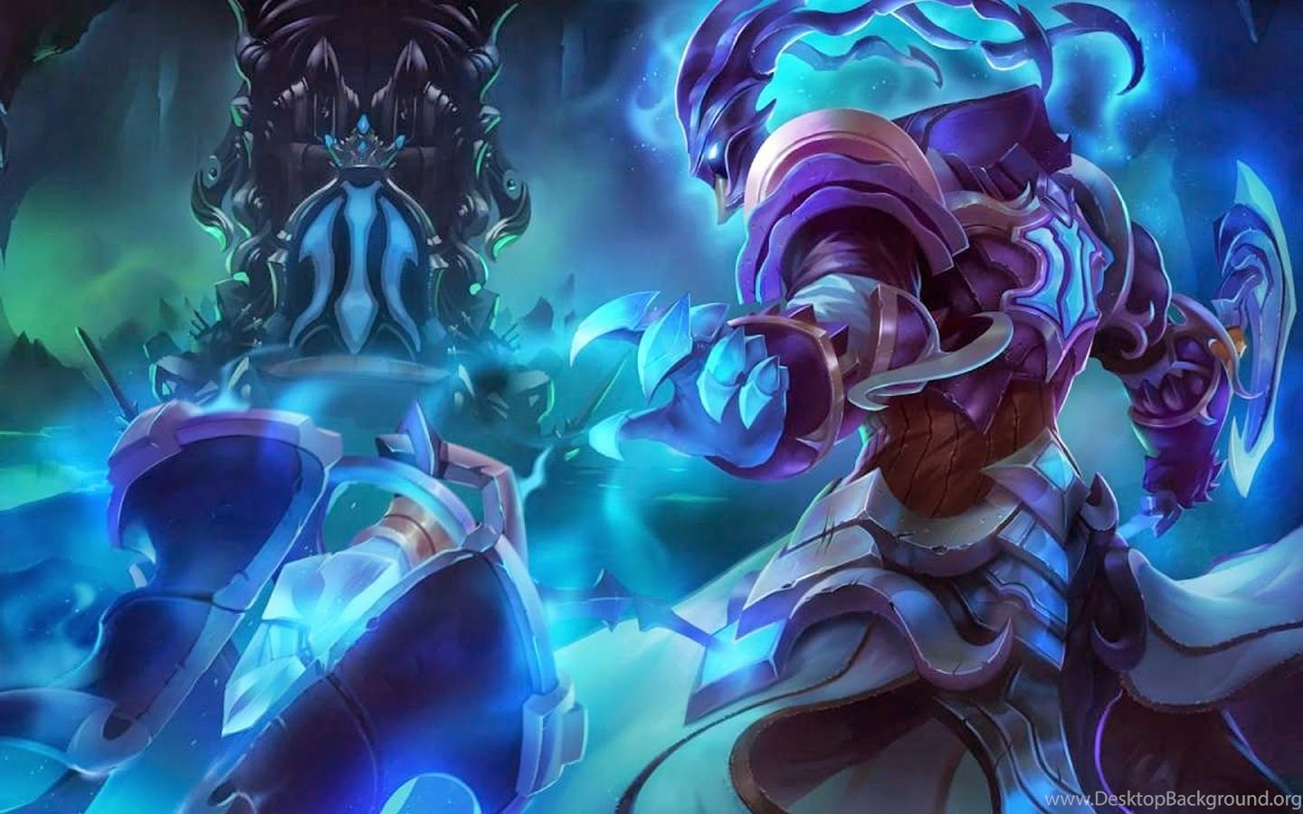 Wallpapers Xerath Lol Champion Free 1600x900 Desktop Background