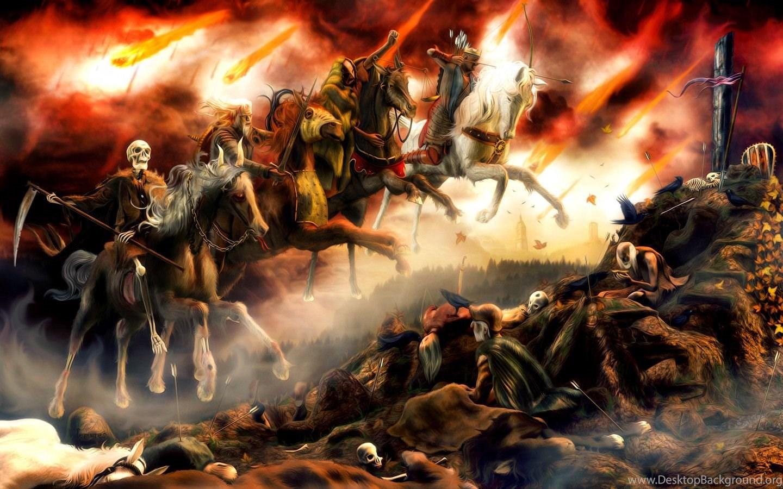 Four Horsemen Of The Apocalypse Wallpapers Wallpapers Cave Desktop