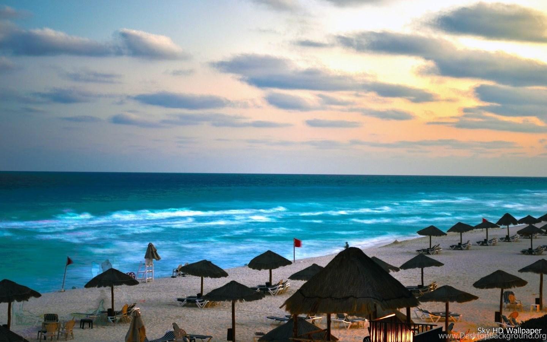 Cancun Mexico Beaches Desktop Background