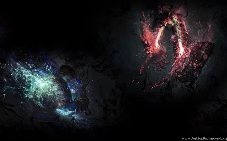 Jhin Teaser Garen Vi Fan Art League Of Legends Wallpapers