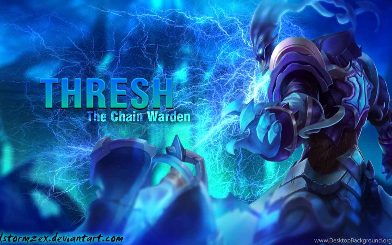 Thresh League Of Legends Wallpaper Thresh Desktop Wallpapers